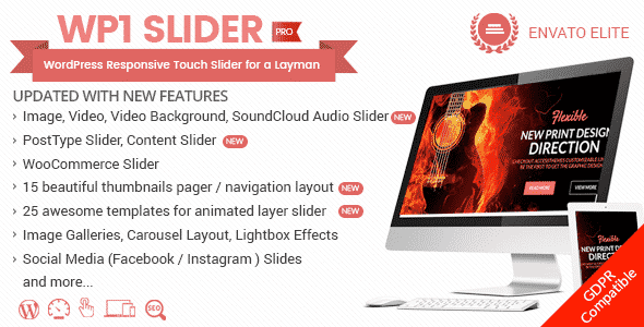Best WordPress Slider Plugins - WP1 Slider Pro