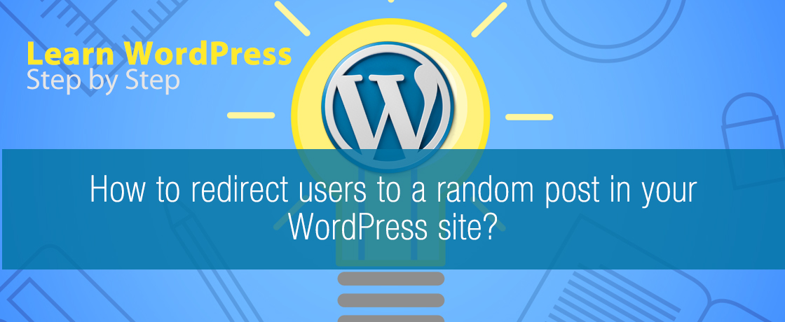 How to redirect users to random post in WordPress