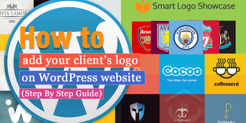 How to add your client's logo on WordPress website? (Step by Step Guide)