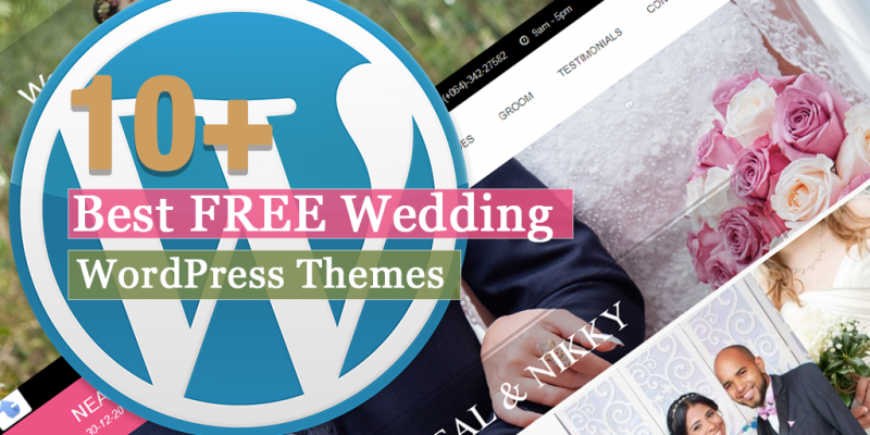 10+ Best Free Wedding WordPress Theme