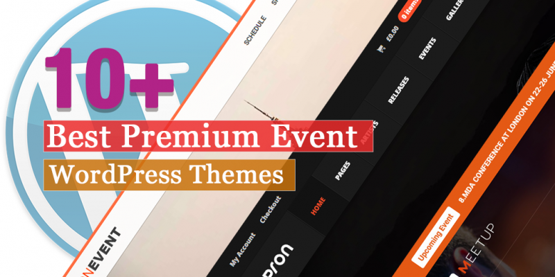10+ Best Premium Event WordPress Themes
