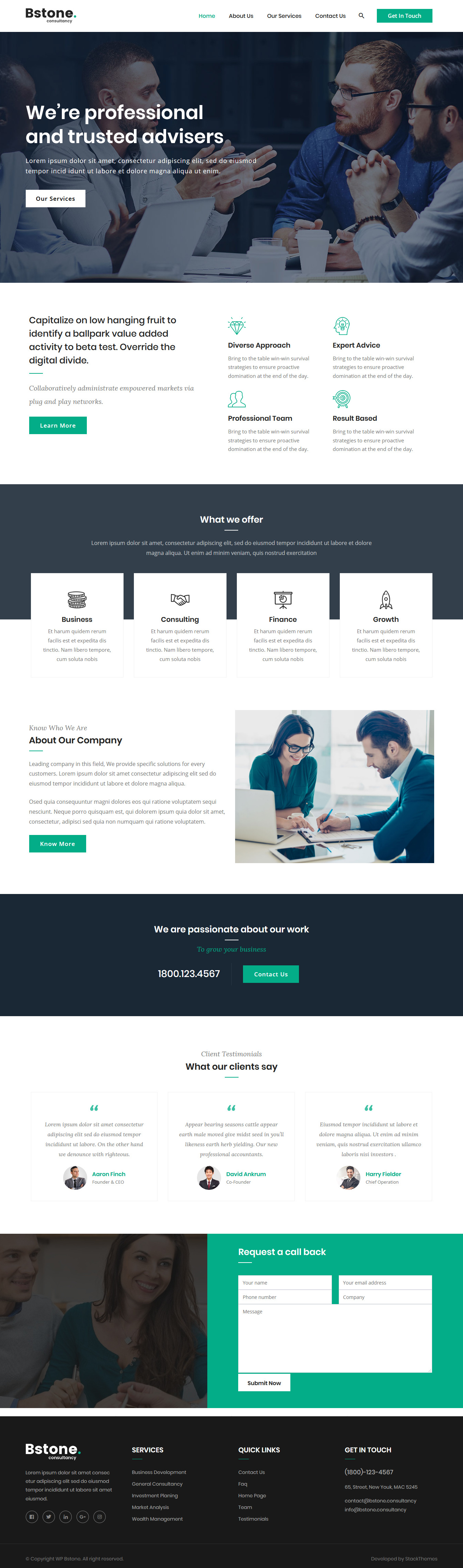Bstone - Best Free BuddyPress WordPress Theme