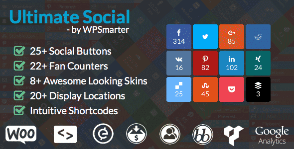 Best WordPress Social Media Share/Counter Plugin: Ultimate Social