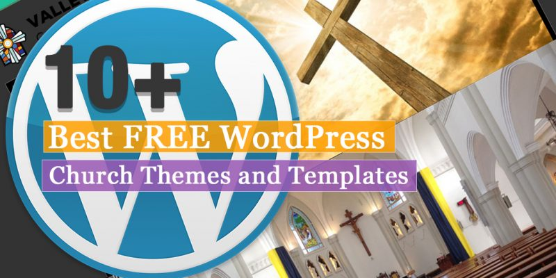 10+ Best Free WordPress Church Themes and Templates