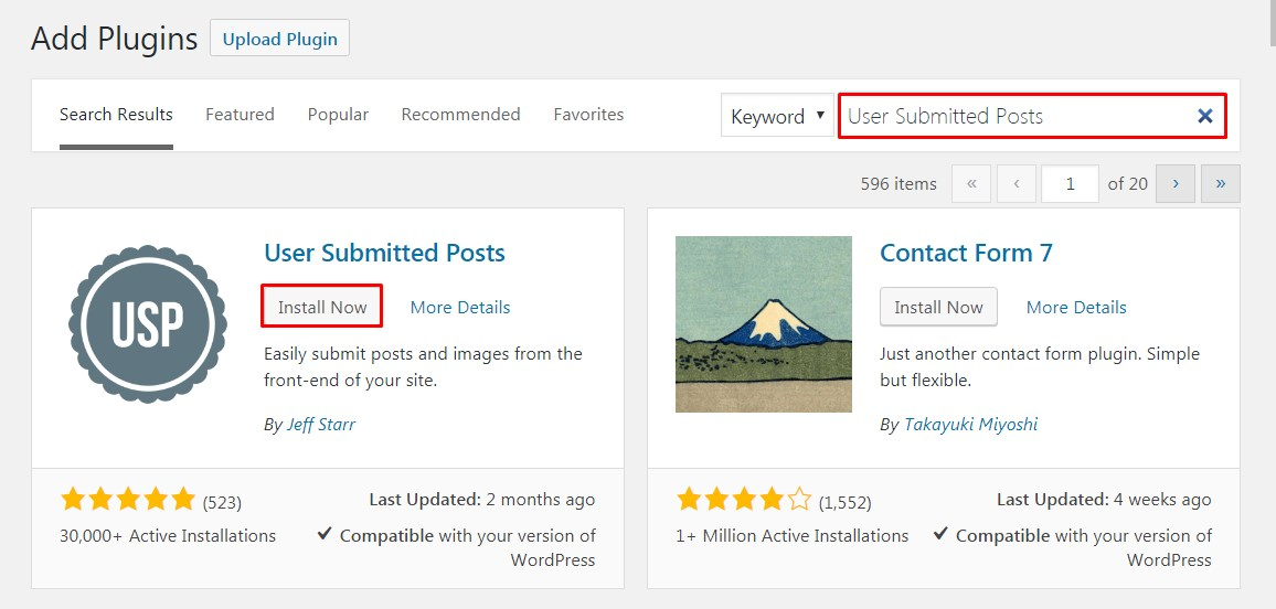 Allow Users to Submit Posts to WordPress Site.