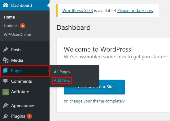 Show Total Number of Registered Users in WordPress.