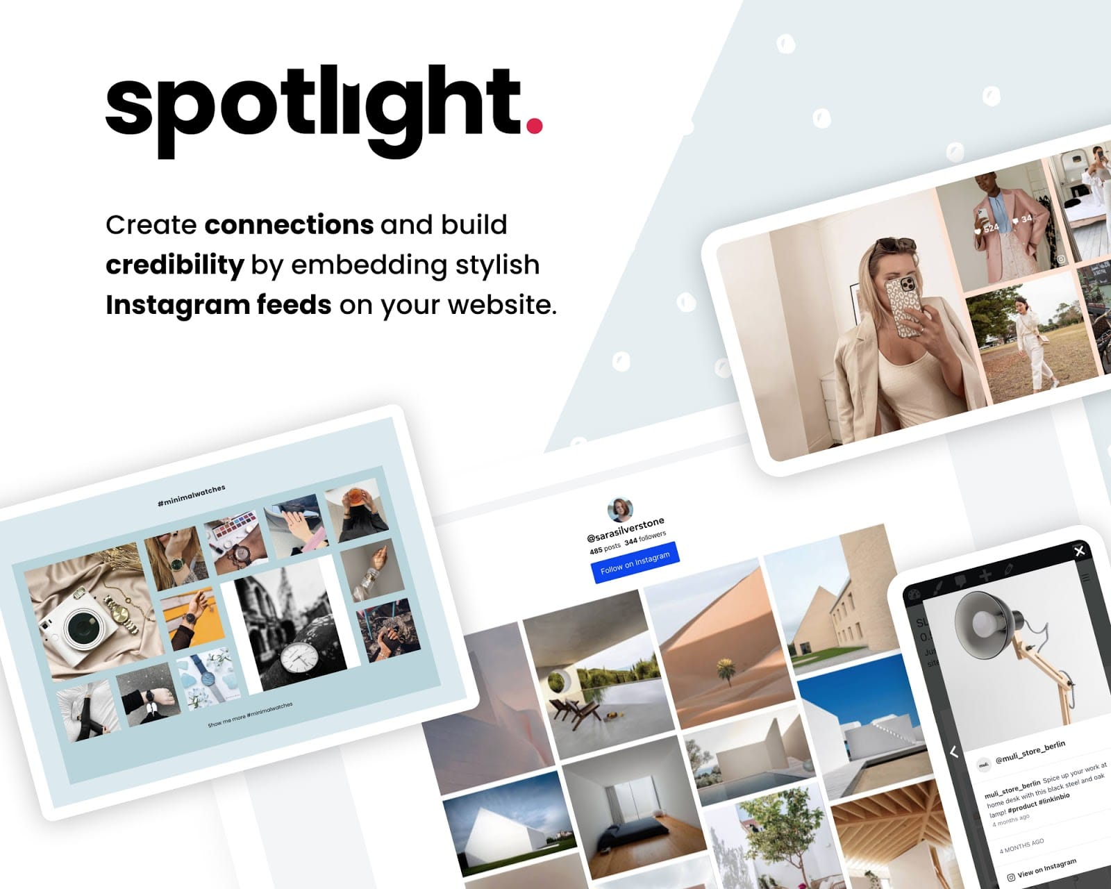 Spotlight Social Media Feeds