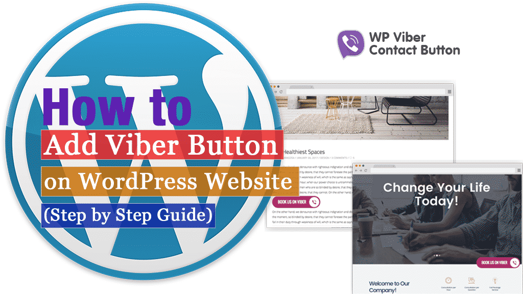 How to add a Viber button on WordPress website? (Step by Step Guide)