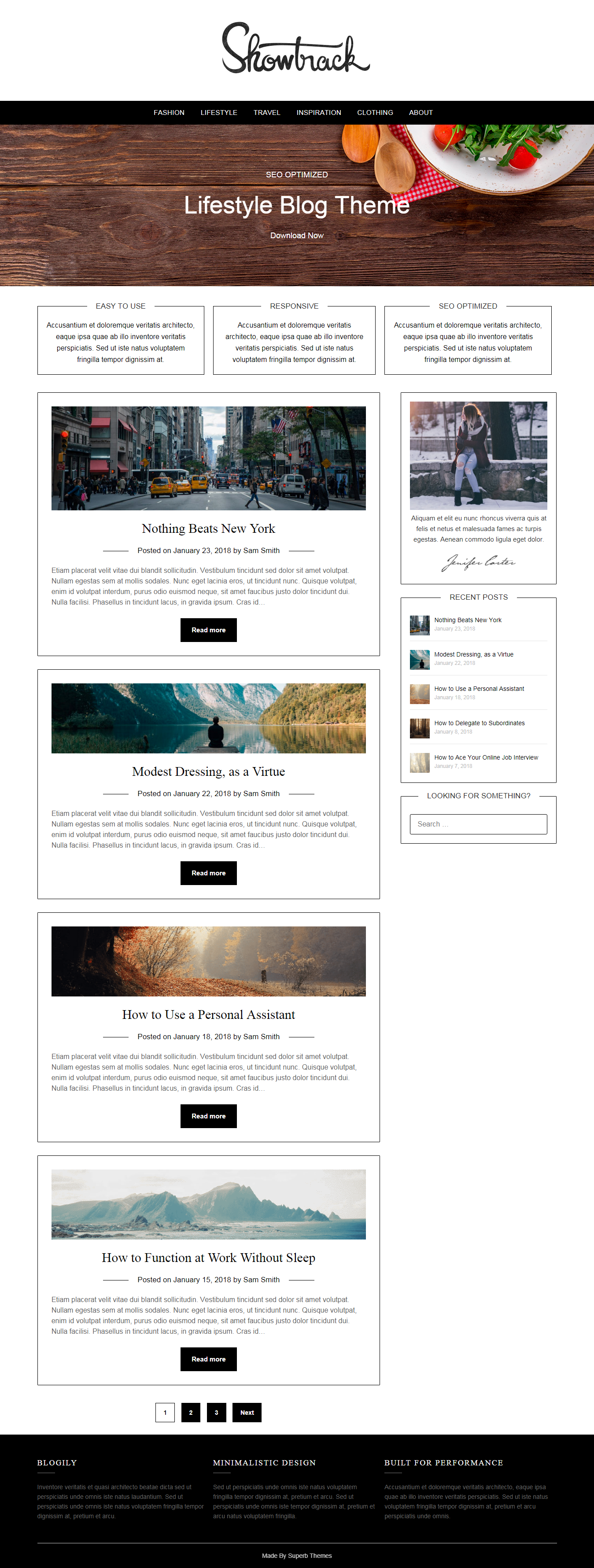LifestylePress - Best Free Lifestyle WordPress Theme