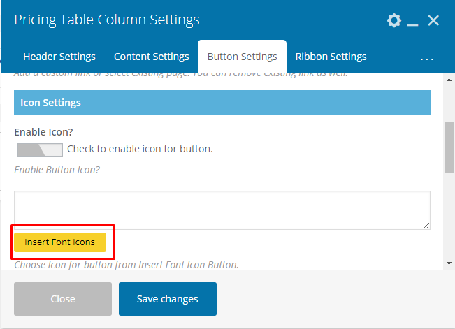 Pricing Table Addon For Visual Composer - Pricing Table Click Button