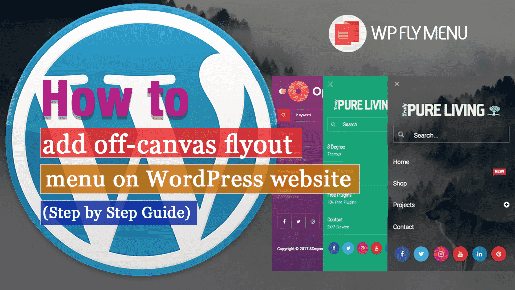 How to add off-canvas flyout menu on your WordPress website? (Step by Step Guide)