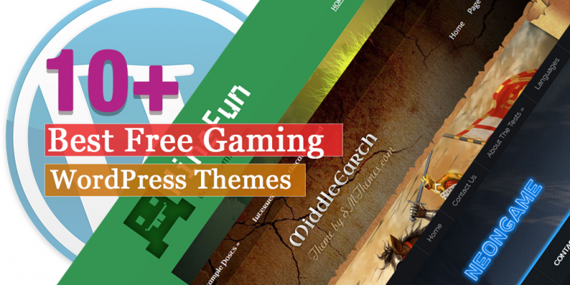 10+ Best Free Gaming WordPress Themes