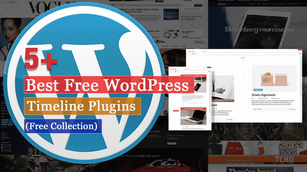 5+ Best Free WordPress Timeline Plugins (Free Collection)