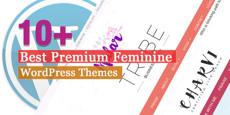 10+ Best Premium Feminine WordPress Themes