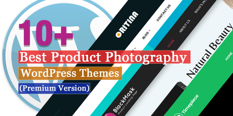 10+ Best Premium Product Photography WordPress Themes
