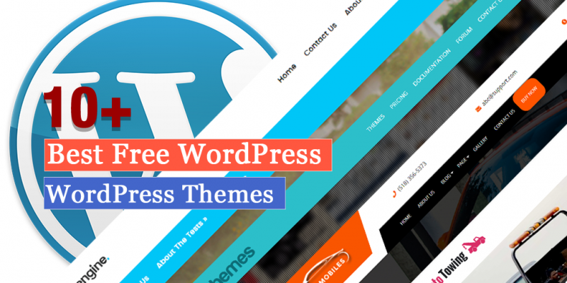 10+ Best Automobile Free WordPress Themes