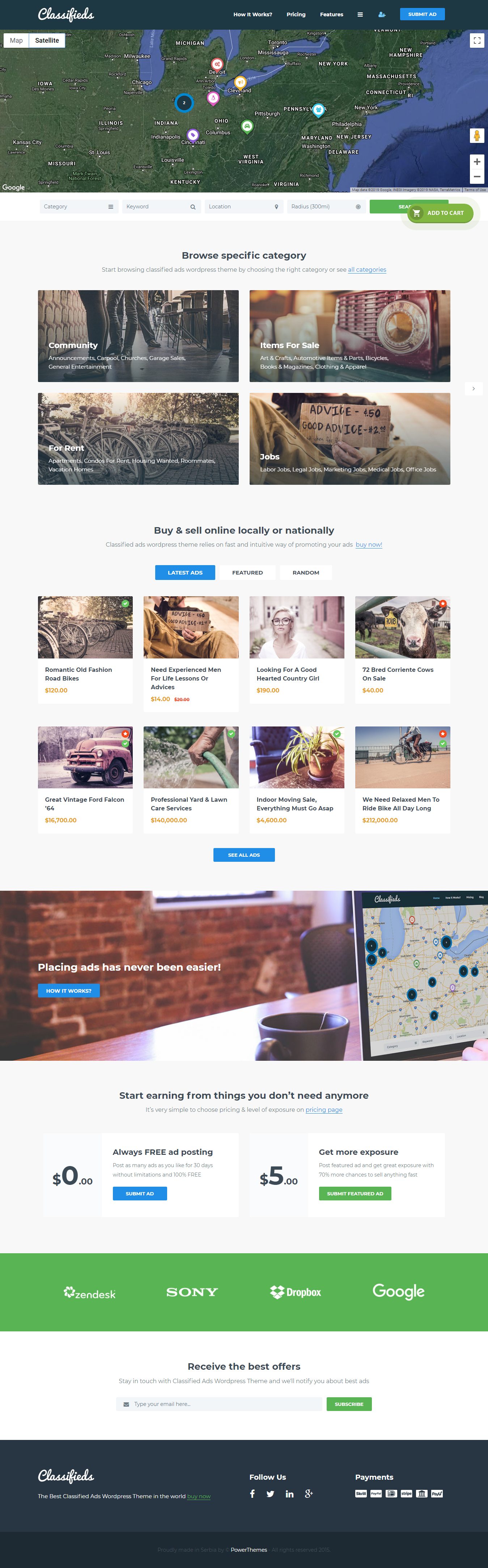 Classified - Best Premium Classifieds WordPress Theme