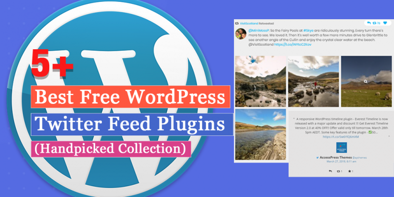 5+ Free WordPress Twitter Feed Plugins(Handpicked Collection)