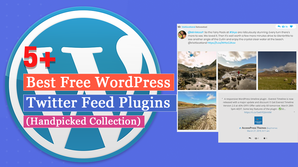 5+ Best Free WordPress Twitter Feed Plugins