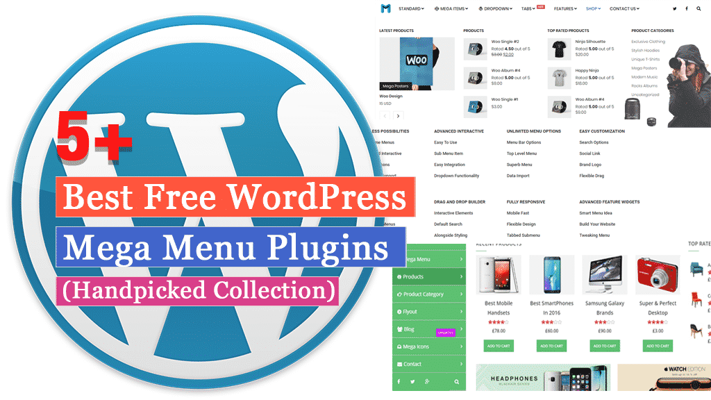 5+ Best Free WordPress Mega Menu Plugins (Handpicked Collection)