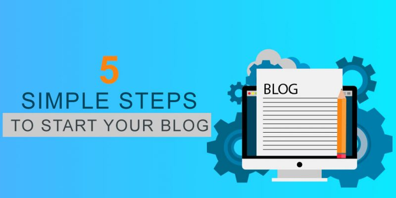 5 Simple Steps To Starting a WordPress Blog By Yourself