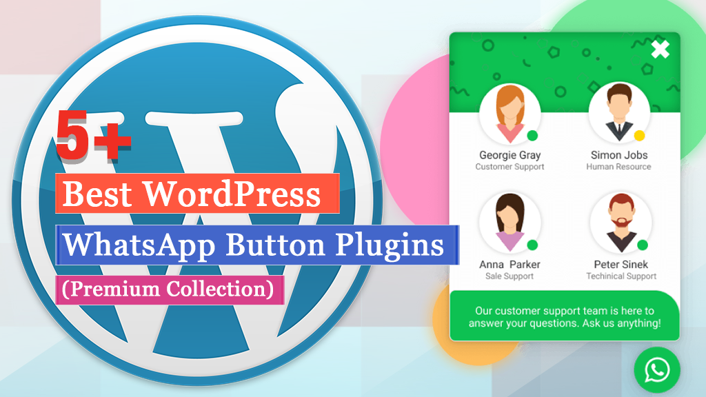 5+ Best WordPress WhatsApp Button Plugins