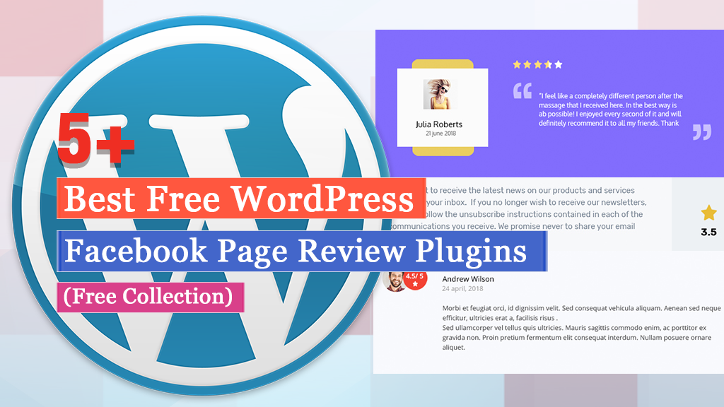 Best Free WordPress Facebook Review Plugins