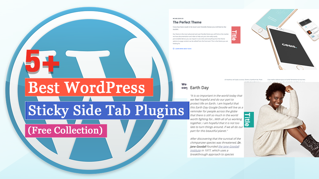 Best Free WordPress Sticky Side Tab Plugins (2021 Collection)
