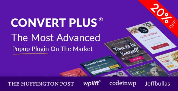 ConvertPlus - Best Premium WordPress Popup Plugin