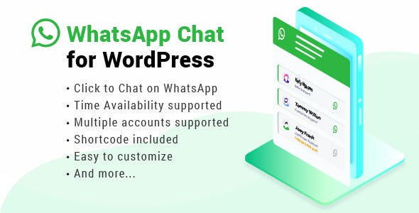 WhatsApp Chat WordPress