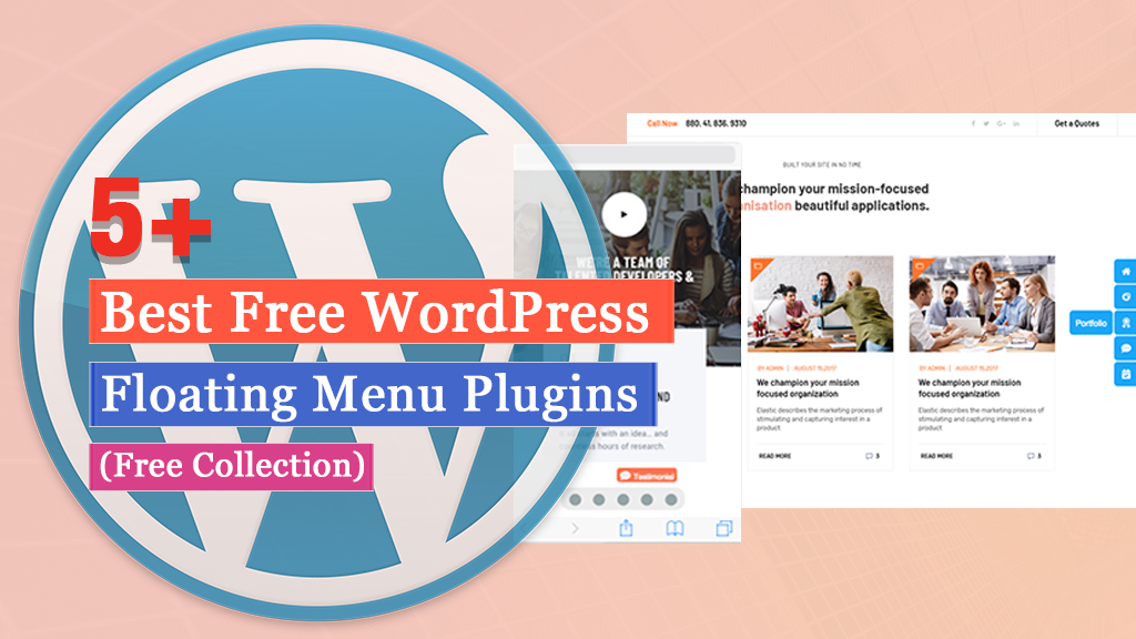 Best Free WordPress Floating Menu Plugins (2020 Collection)