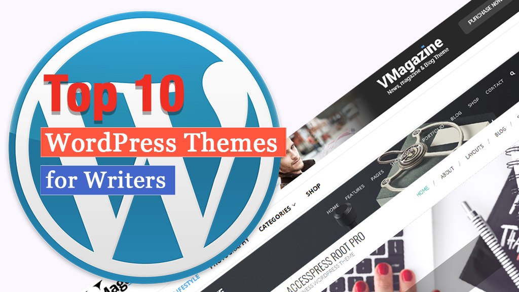 top 10 wordpress themes for writers