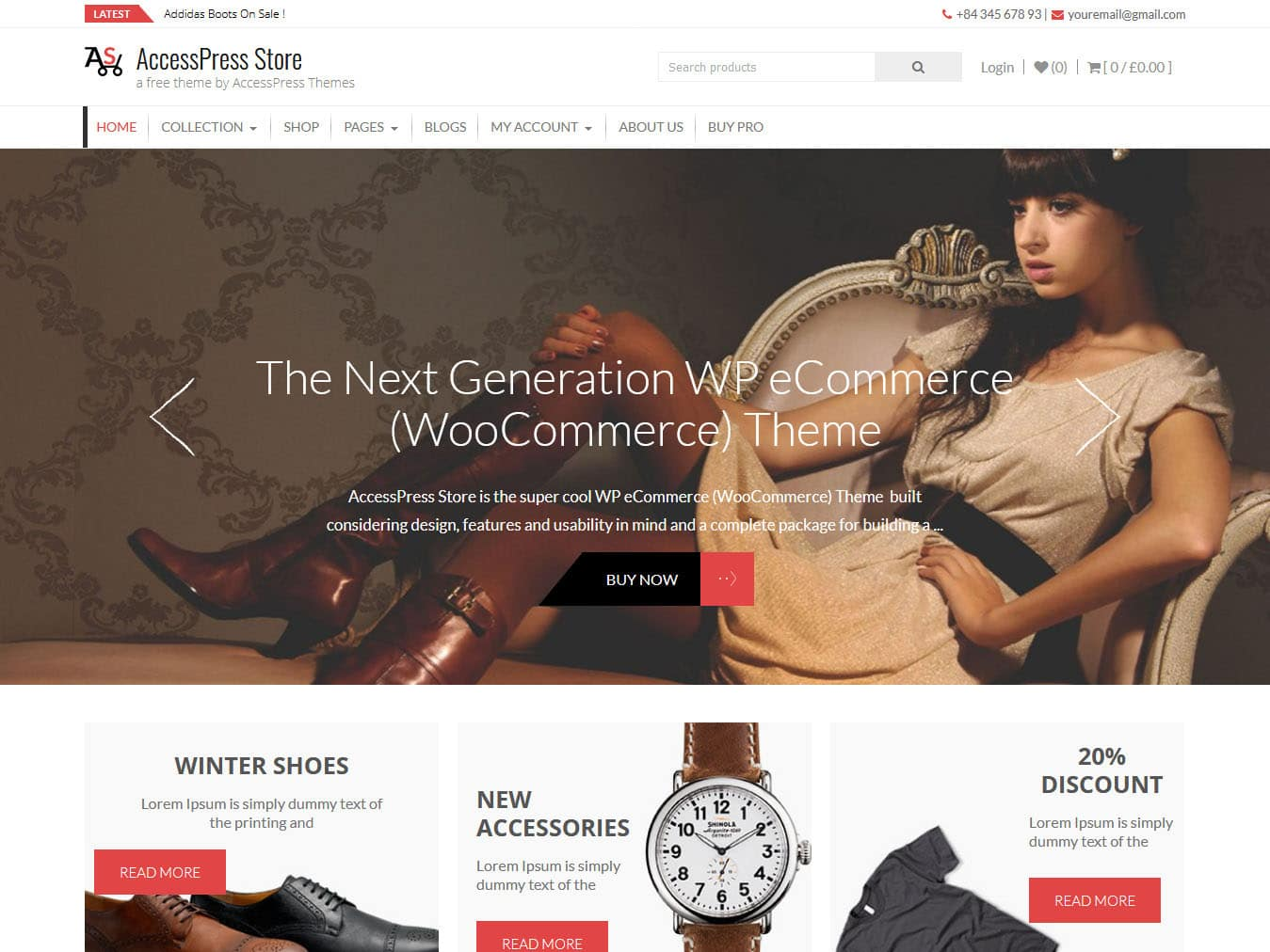 AccessPress Store - Best Free WordPress WooCommerce Theme