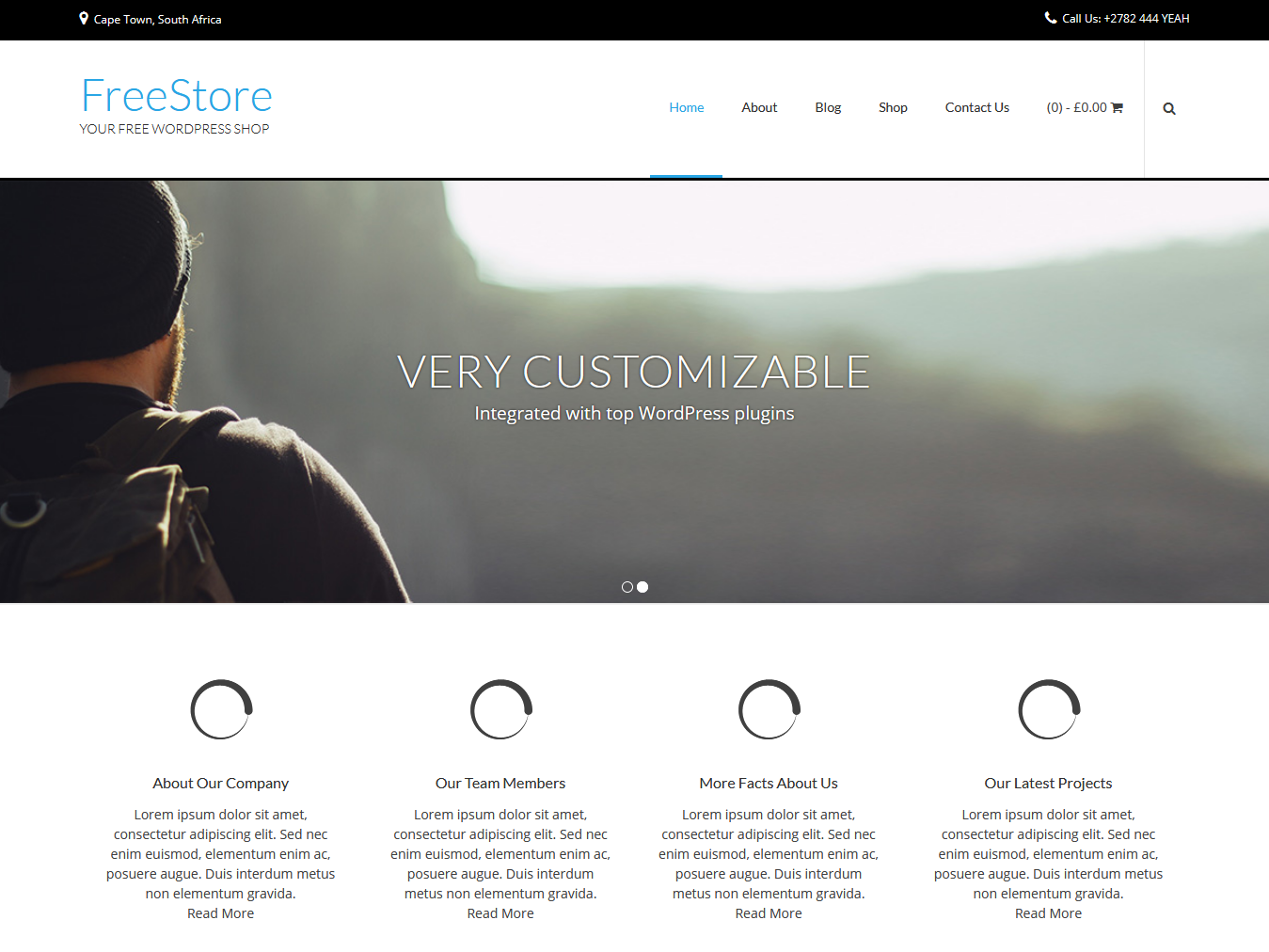 FreeStore - Best Free WordPress WooCommerce Theme