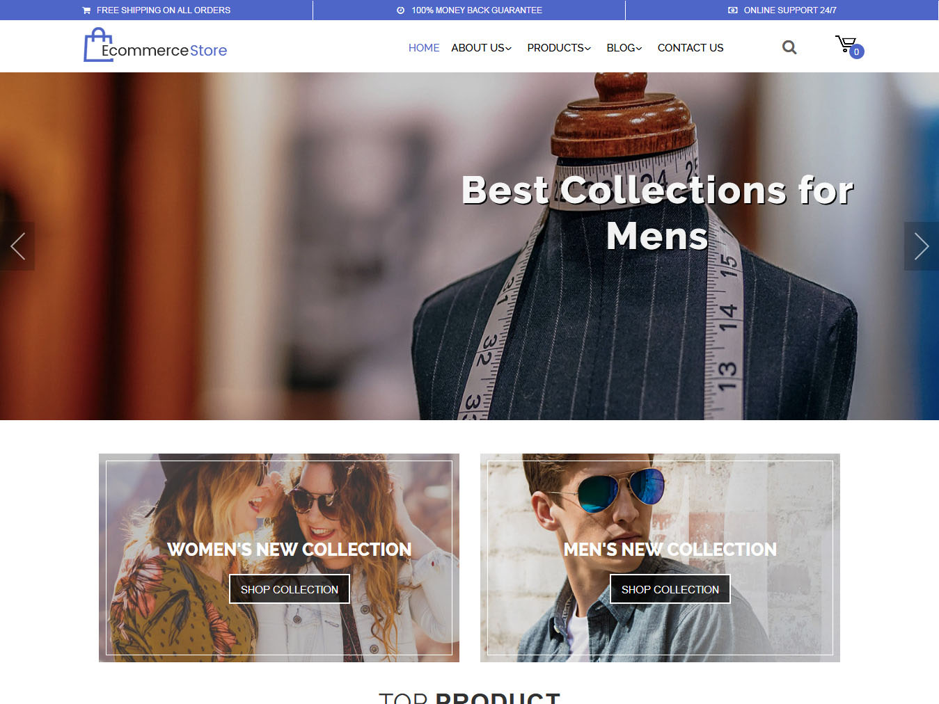 Multipurpose Ecommerce - Best Free WordPress WooCommerce Theme