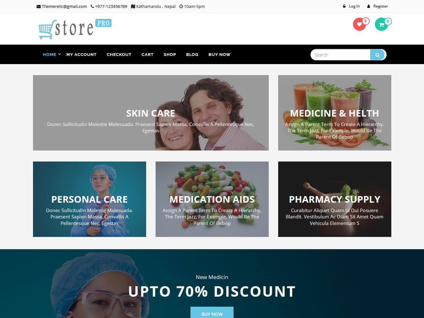 oStore - Best Free WordPress WooCommerce Theme