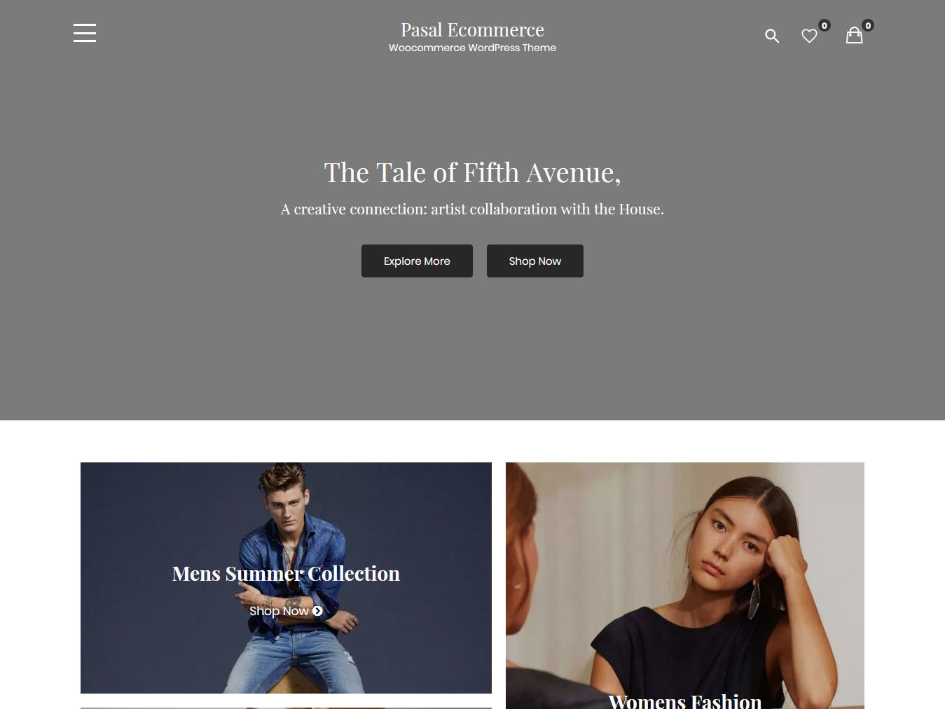 Pasal eCommerce - Best Free WordPress WooCommerce Theme