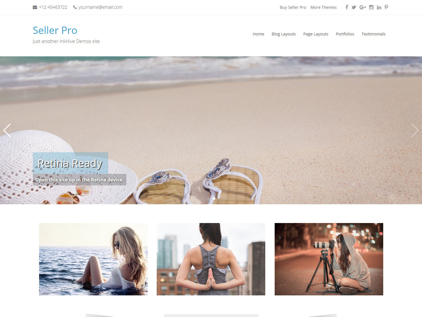 Seller - Best Free WordPress WooCommerce Theme