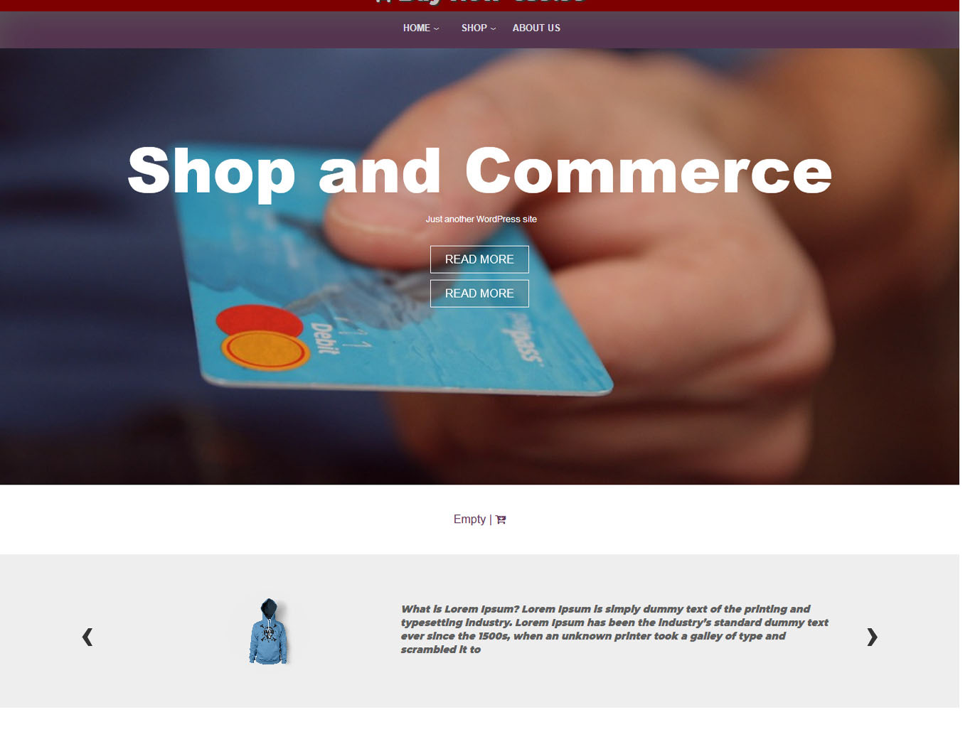Shop and Commerce - Best Free WordPress WooCommerce Theme