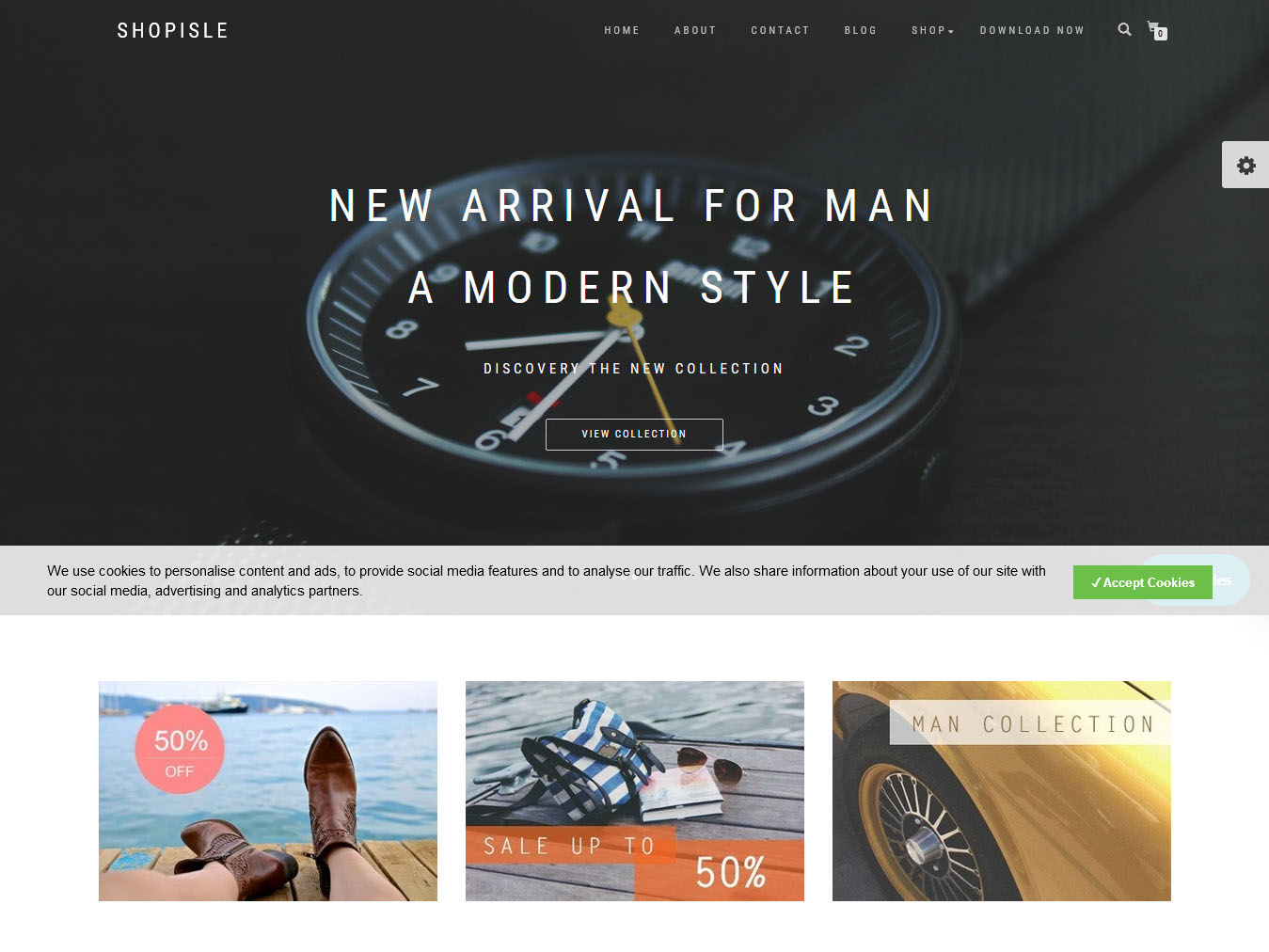 Shop Isle - Best Free WordPress WooCommerce Theme