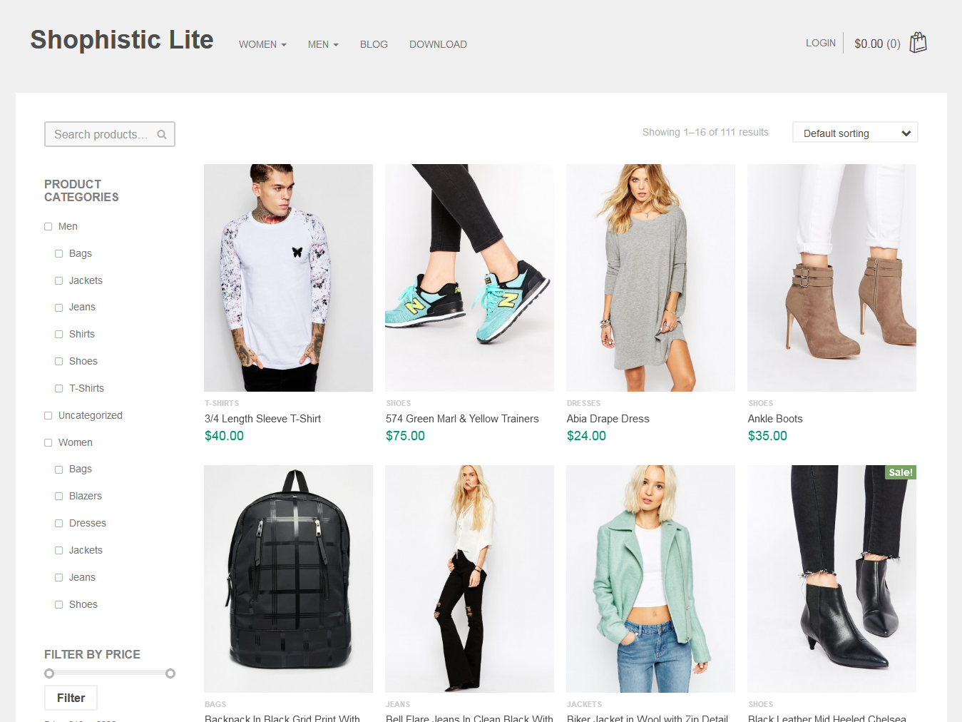 Shophistic Lite - Best Free WordPress WooCommerce Theme