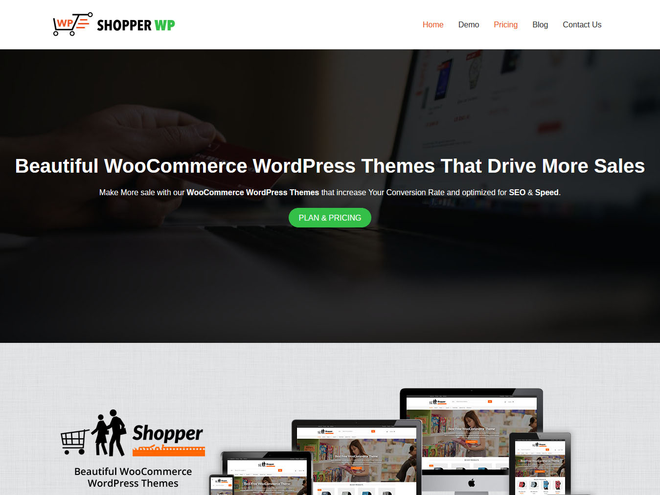 Shopper - Best Free WordPress WooCommerce Theme