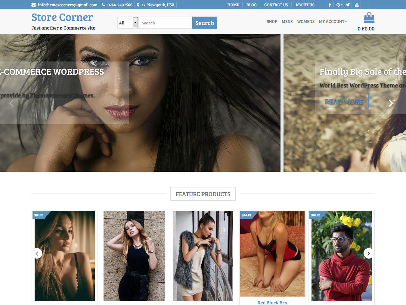 Store Corner - Best Free WordPress WooCommerce Theme