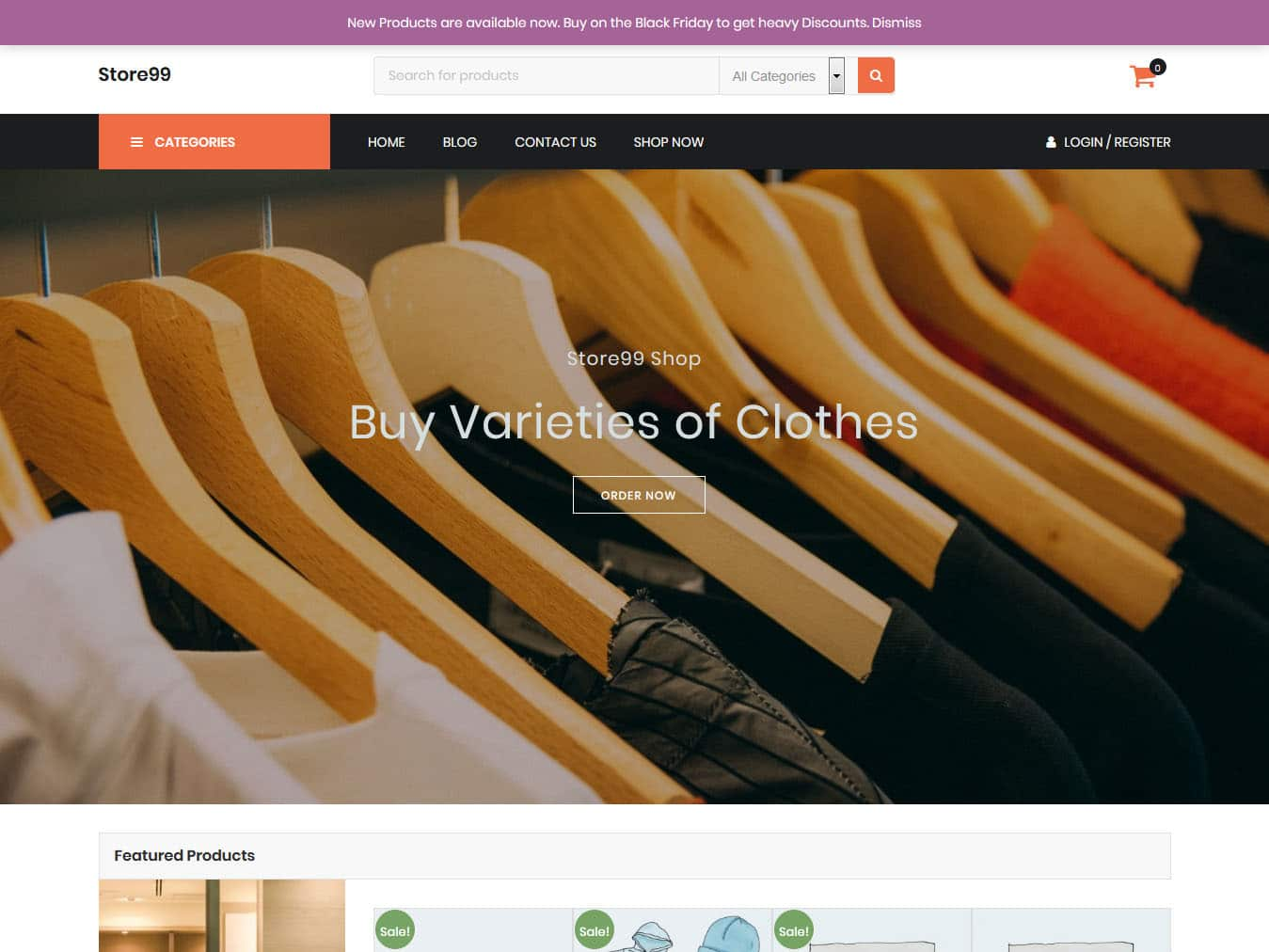 Store99 - Best Free WordPress WooCommerce Theme