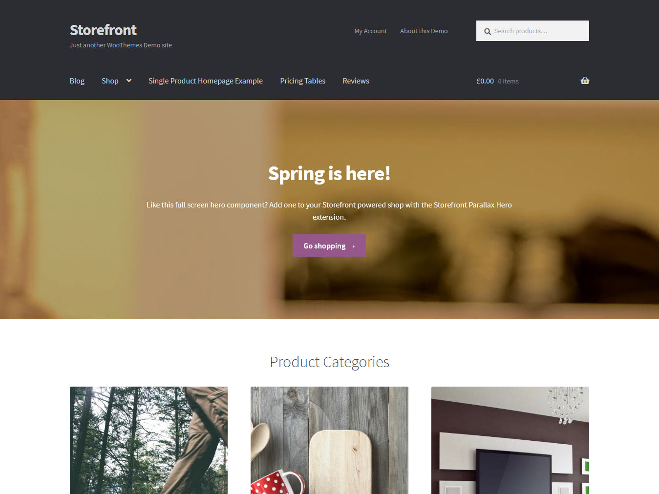 Storefront - Best Free WordPress WooCommerce Theme