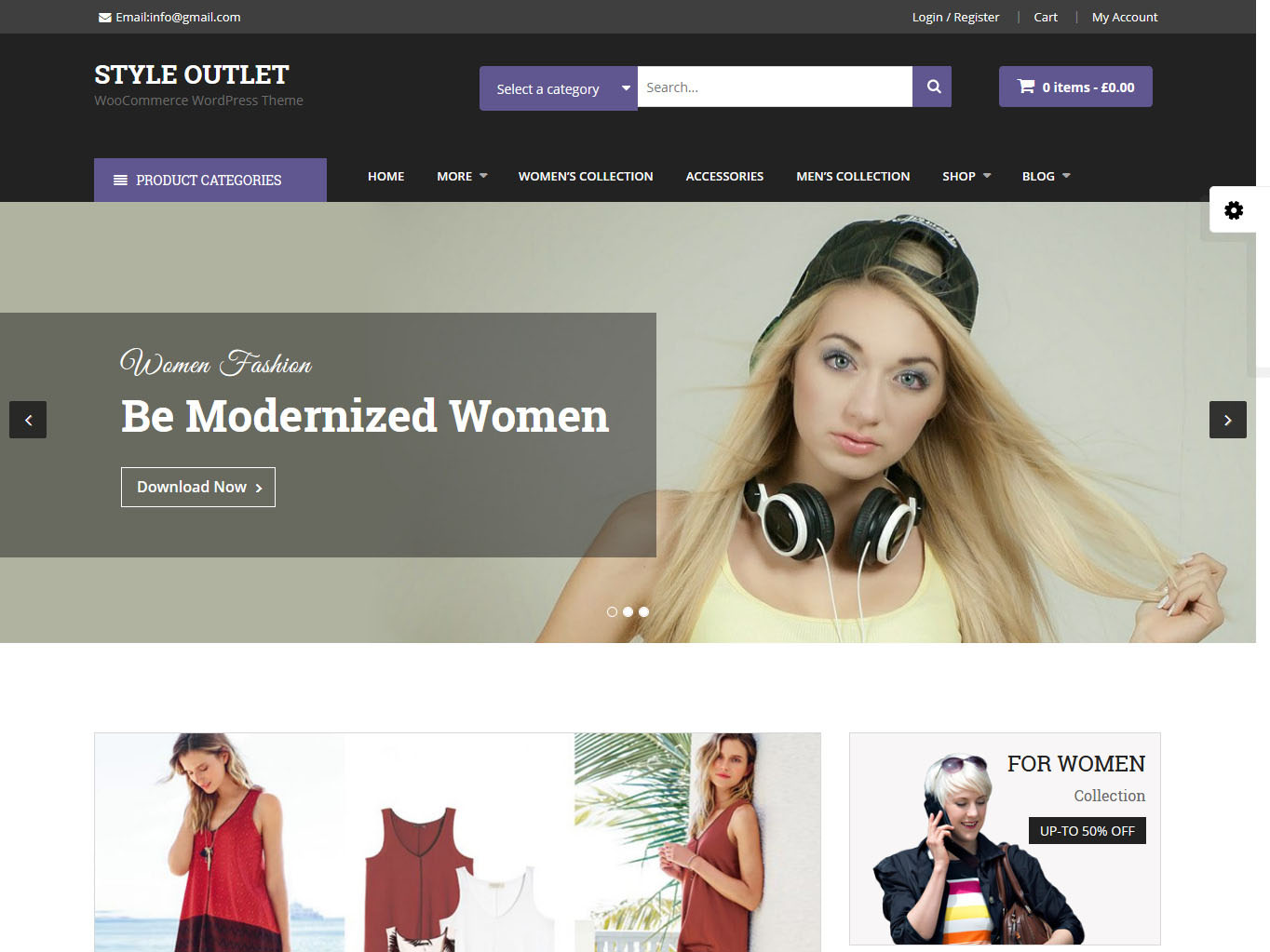 Style Outlet - Best Free WordPress WooCommerce Theme