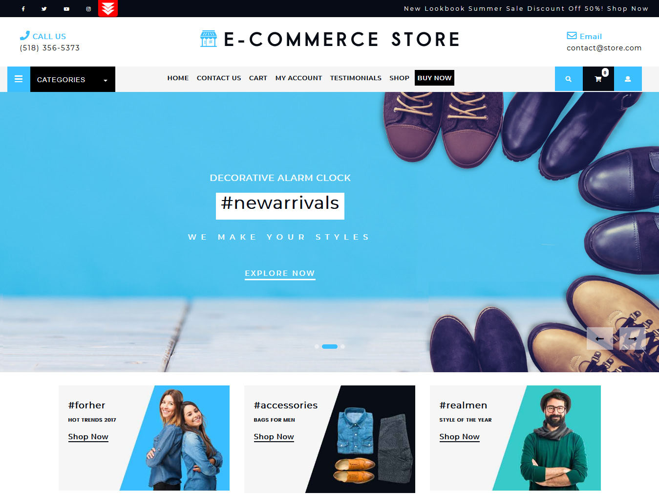 Ultimate Ecommerce Shop- Best Free WordPress WooCommerce Theme