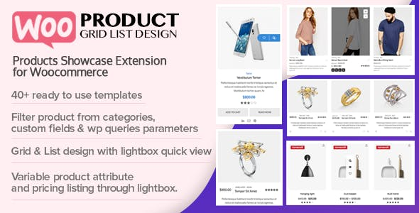 Woo Product Grid/List Design