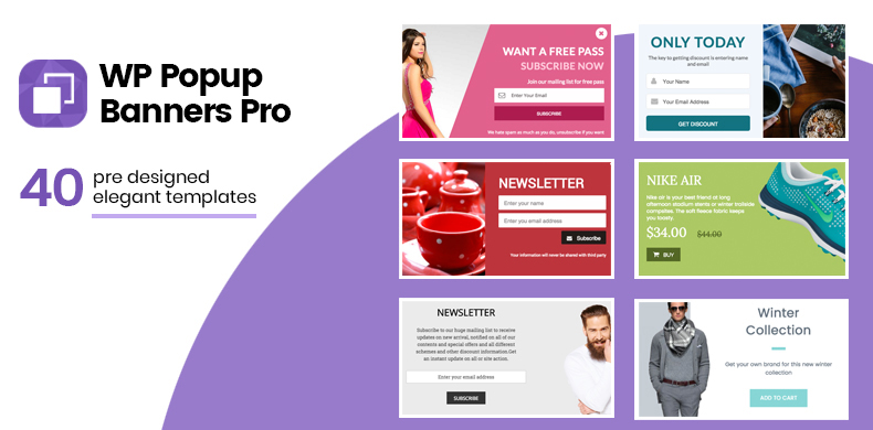 Ultimate popup plugin for WordPress – WP Popup Banners Pro