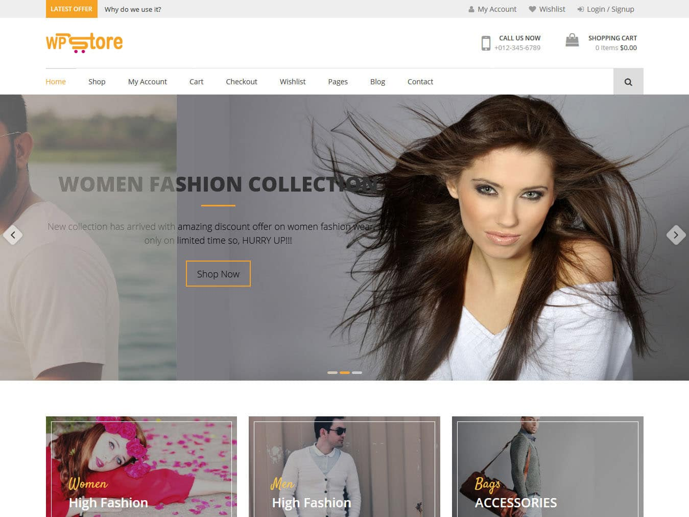 WP Store - Best Free WordPress WooCommerce Theme